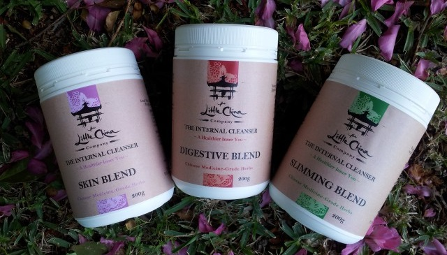 The Internal Cleansers, Digestion Blend, Slimming Blend, Skin Blend